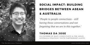 Read more about the article Building Bridges Between Australia & ASEAN: Thomas Da Jose (Masy Consultants & AASYP)