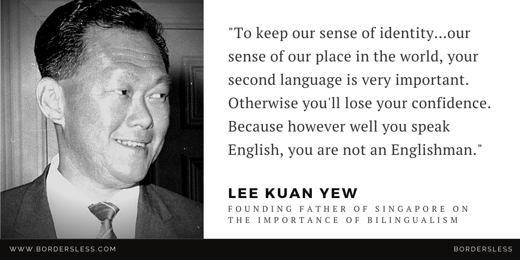 Read more about the article The Importance of Mandarin & Bilingualism: Lee Kuan Yew (李光耀)