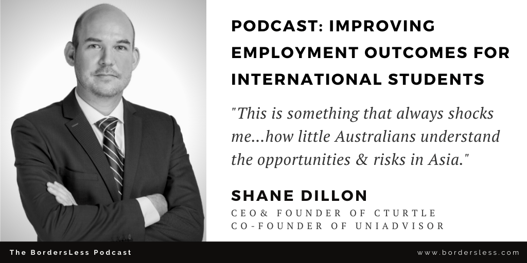 Read more about the article Improving International Students Employment Outcomes: Shane Dillon (Cturtle)