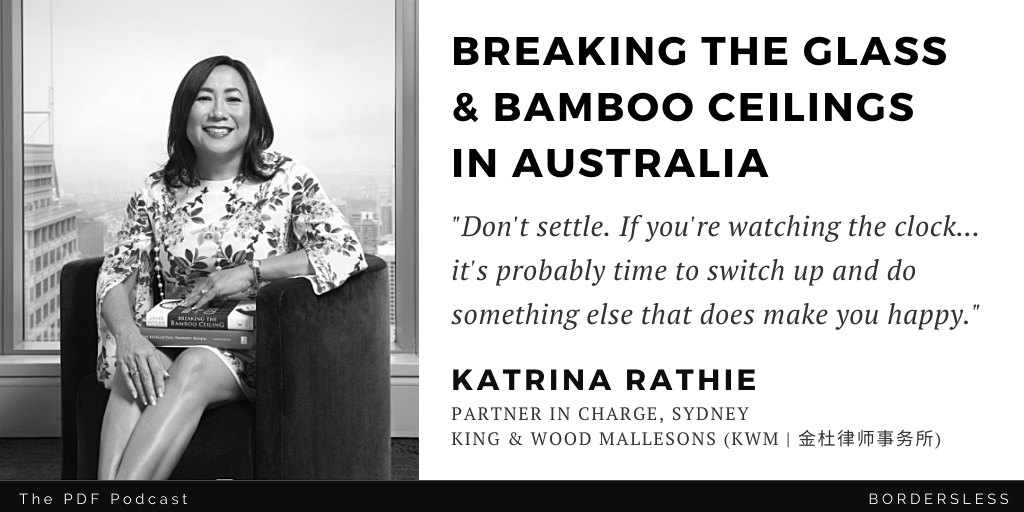 Read more about the article Breaking the Bamboo Ceiling in Australia: Katrina Rathie (KWM)